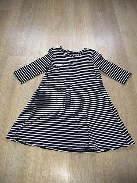Платье H&M хорошего качества, 7-8 лет, хорошее состояние