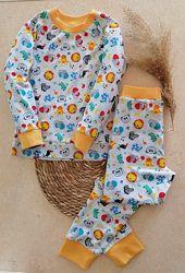 Пижама детская Звери  рост 68-146