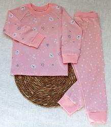 Детская пижама Нежность кулир рост 80 - 146