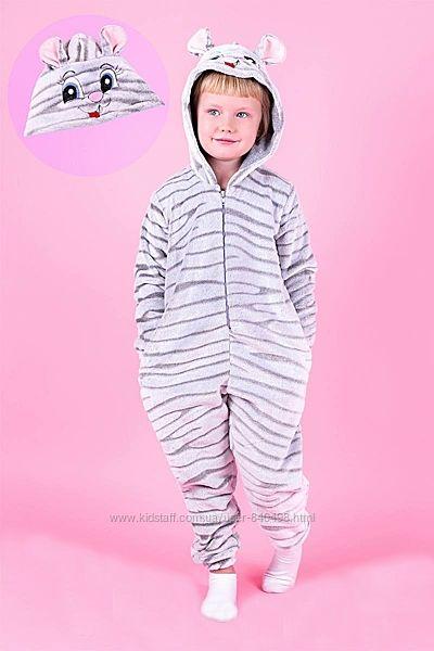 Кигуруми пижама Мышка детский и подростковый рост 98-164