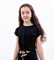 Блуза для девочек подростков, рост 146-158