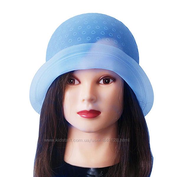 Профессиональная парикмахерская шапочка силиконовая для мелирования волос