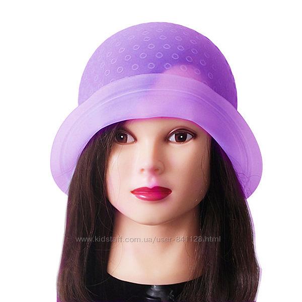 Профессиональная парикмахерская шапочка силиконовая для колорирования волос
