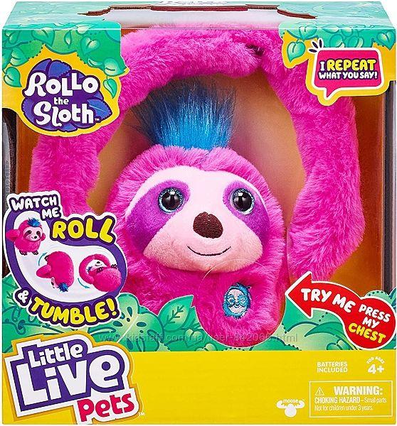 Интерактивная игрушка ленивец Ролло Little Live Pets Rollo