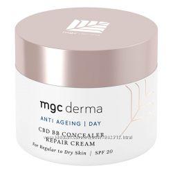 Восстанавливающий BB крем консилер MGC Derma CBD BB Concealer Repair Cre