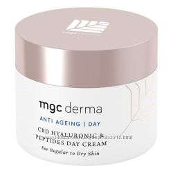 Антивозрастной крем с пептидами MGC Derma CBD Hyaluronic & Peptides Cream