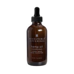 Конопляное масло для лица и тела Hemp Oil Instant Face & Body Moisturizer