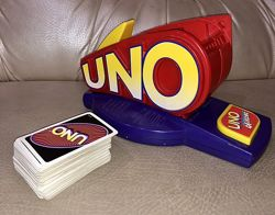 Игра настольная uno attack с картами
