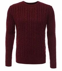 Мужской вязаный свитер topman