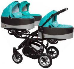 Коляска для тройни - BabyActive Trippy Premium