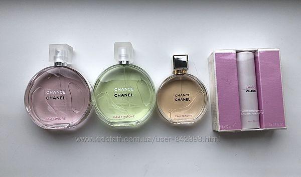 Chanel Chance тестера, оригинал, в наличии