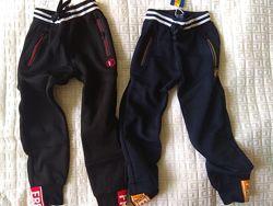 Спортивные штаны с начесом 134-164