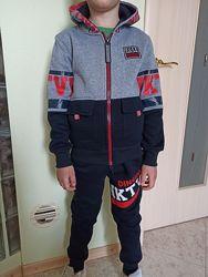 Спортивный костюм утепл. 134-164