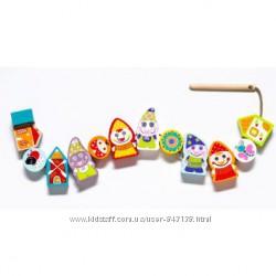 CUBIKA деревянные игрушки рыбки-силянки