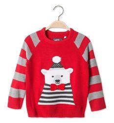 Детский свитер с медведем для мальчика C&A Германия Размер 92