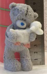 Форма силиконовая 3D для мыла и свечей Тедди с овечкой