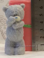 Форма силиконовая 3D для мыла и свечей Мишка Тедди