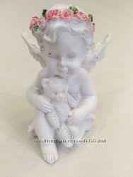 Форма силиконовая 3D для мыла и свечей Ангелочек с мишкой