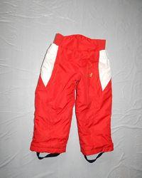 р. 104-110 лыжные термоштаны, Decathlon, Франция, теплые зимние штаны