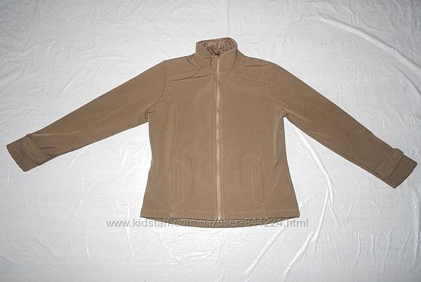 S-M очень теплая куртка софтшелл реглан на флисе Crane