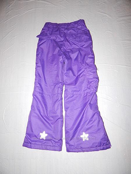 р. 128-134 лыжные термо штаны, Okay, Германия, теплые зимние штаны