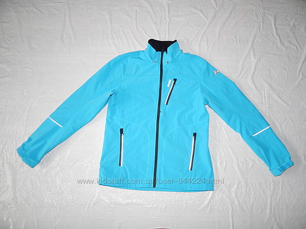 S-M, куртка софтшелл реглан на флисе Icepeak