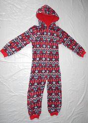 р. 134-140 флисовый слип пижама