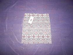 2-3XS, поб 36-42, новая трикотажная юбка мини Mango