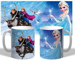 Чашка Frozen
