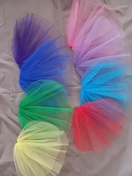 Фата цветная для девичника и вечеринки в наличии