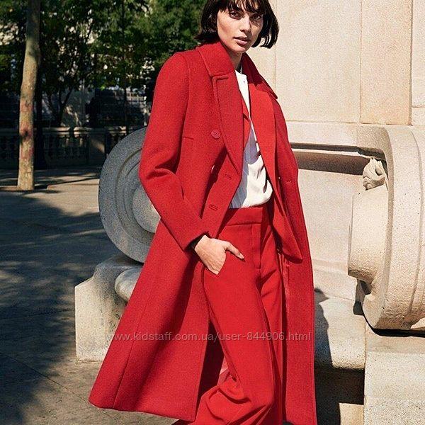 Пальто H&M, 51 шерсти 49 полиестера