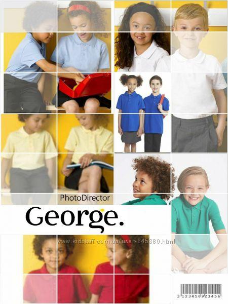 Новые  поло GEORGE от 5 до 16 лет разные цвета