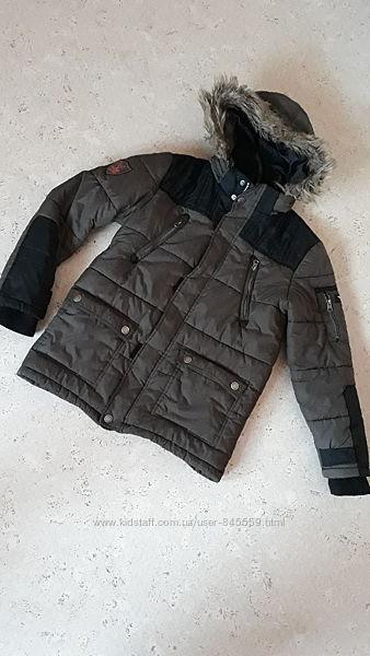 Зимняя куртка ф-мы C&A на мальчика р. 152
