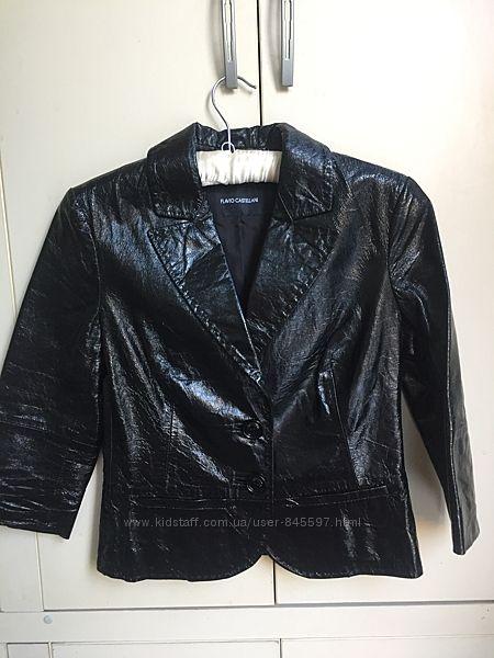 Кожаный пиджак Flavio Castellani  Италия