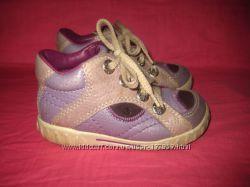 Демисезонные кожаные ботиночки Ecco оригинал - 23 размер