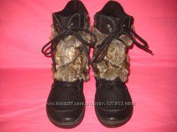 Фирменные кожаные демисезонные ботинки Tamaris оригинал - 40 размер