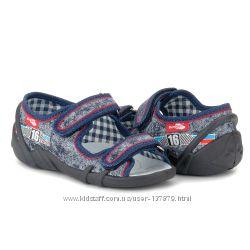 Детские текстильные босоножки Renbut для мальчика - размер 26-30