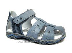 Кожаные сандалии для мальчиков. р. 27-30, Ренбут, Польша