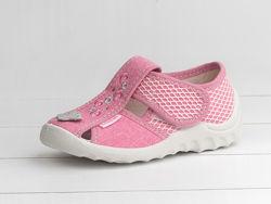 Текстильные сандалии для девочек, Тм Валди Waldy, Украина