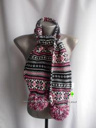 Теплый, двойной шарф, секонд-сток, новый