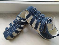 Кожаные сандалии для мальчиков 24-37 низкие цены