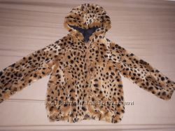 Шубка курточка Beneton для девочки 5-7 лет.