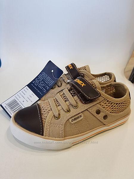 Текстильные туфли, кеды, мокасины Demix. Размер 28. Стелька 17,5 см