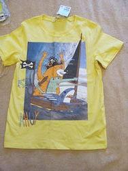 новые футболки р128