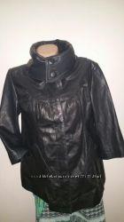 англ 12, евро 38 кожа отличное состояние куртка River Idsland