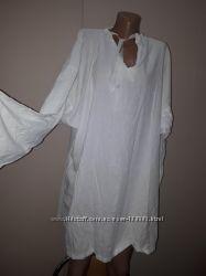 очень большой размер блуза коттон