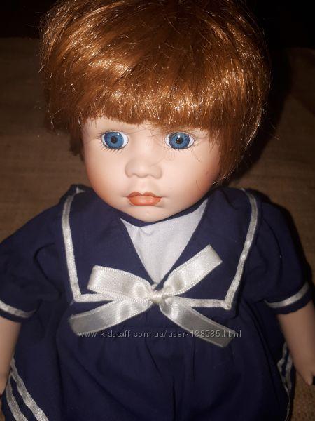 2шт  очень красивые коллекционные фарфоровые куколки Anne the Promenade col