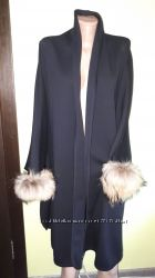 пончо шерсть новое Domizia jersey Made in Italy