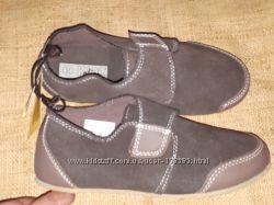 32-20. 5 замша новые туфли Kidz alive Germany очень легкие не узкие