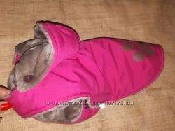 теплая курточка на плюше  Samohyl Exlusiv  размер 32 плюш очень